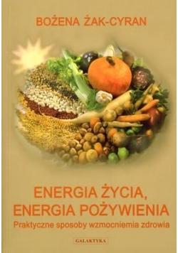 Energia życia. Energia Pożywienia