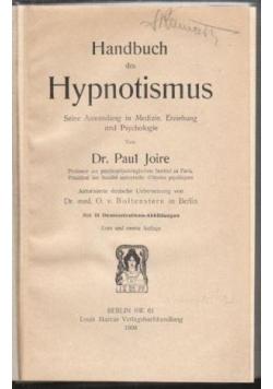 Handbuch des Hypnotismus