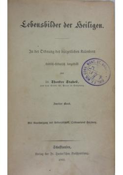Lebensbilder der heiligen, 1865 r.