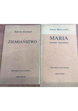 Ziemiaństwo/Maria powieść ukraińska