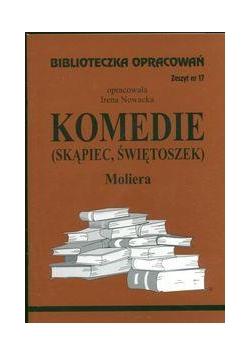 Biblioteczka opracowań nr 017 Komedie  Molier