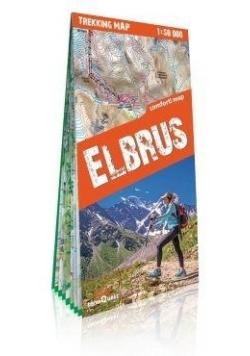 Mapa trekkingowa - Elbrus 1:50 000