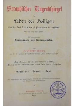 Seraphischen Zugendspiegel, zestaw 2 książek, 1889 r.