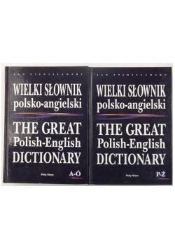 Wielki słownik polsko-angielski 2 książki