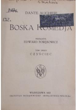 Boska Komedja, Tom II, 1922 r.