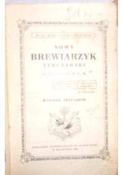 Nowy Brewiarzyk Tercjarski, 1928 r.