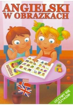Angielski w obrazkach - uczymy się języków -różowa