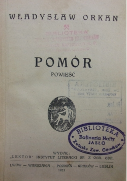 Pomór, 1923r.