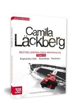Pakiet Camilla Lackberg T.1-3 Audiobook