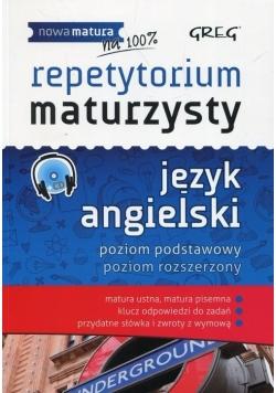 Repetytorium maturzysty język angielski + CD, nowa