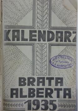 Kalendarz Brata Alberta 1935