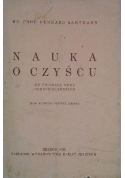 Nauka o czyścu, 1932 r.