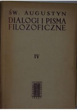 Dialogi filozoficzne IV