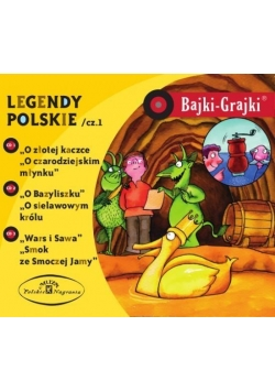 Bajki - Grajki. Legendy polskie Część 1 3CD