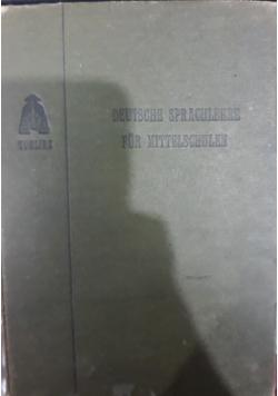 Deutsche sprachlehre für mittelschulen, 1910 r.