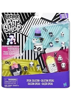 Littlest Pet Shop Black&White zestaw 1