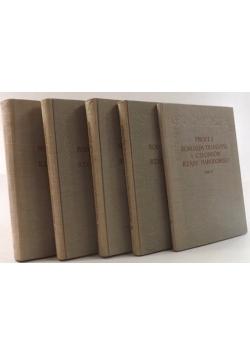 Proces Romualda Traugutta i członków Rządu Narodowego, tom I-IV