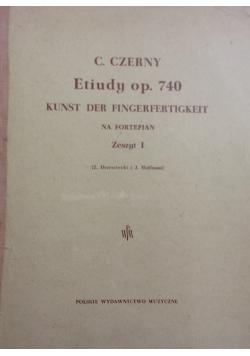 Etiudy op. 740