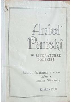 Anioł Pański w literaturze polskiej