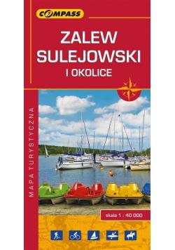 Zalew Sulejowski i okolice Mapa turystyczna 1:40 000
