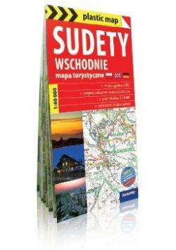 plastic map Sudety Wschodnie 1:60 000 mapa
