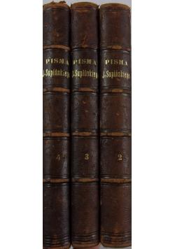 Pisma J. Supińskiego, 3 książki, tom 2 - 4