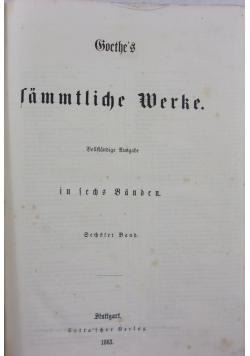 Sämtliche werke, 1863 r.