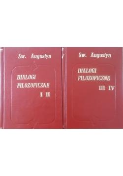 Dialogi filozoficzne Tom I-II, III-IV