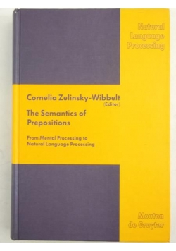 The Semantics of Prepositions