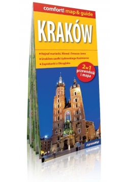 Kraków 2w1 przewodnik i mapa