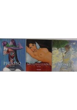 Monet/Picasso/Modigliani