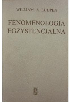 Fenomenologia egzystencjalna