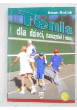 Tenis dla dzieci, nauczycieli i rodziców