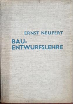 Bauentwurfslehre, 1936 r.