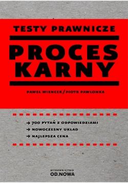 Testy prawnicze Proces karny