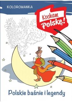 Kolorowanka. Polskie baśnie i legendy