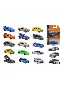Racing Cars, 18 rodzajów