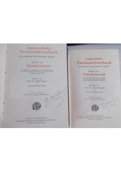 Słownik kieszonkowy, cz. I-II, 1920 r.