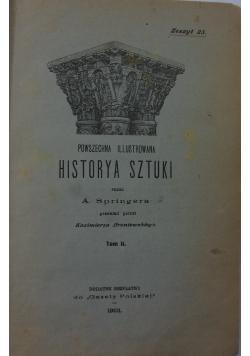 Historya sztuki Tom I- II,1903r.