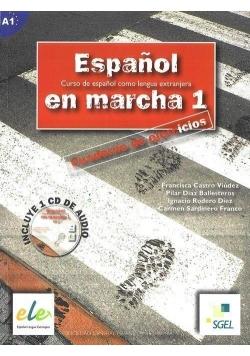 Espanol en marcha 1 ćwiczenia z płytą CD