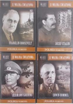II wojna światowa - zestaw czterech płyt DVD