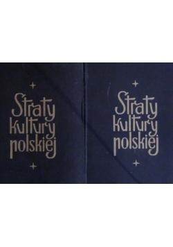 Straty kultury polskiej, tomy 1-2, 1945 r.