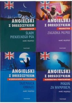 Angielski z dreszczykiem, zestaw 4 książek