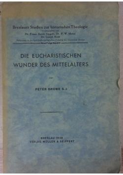 Die Eucharistischen wunder des Mittelalters, 1938 r.