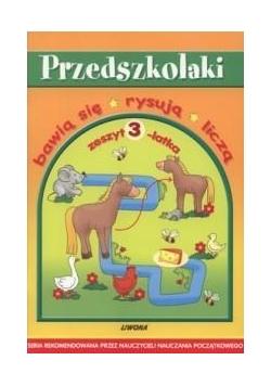 Przedszkolaki - zeszyt 3-latka  LIWONA