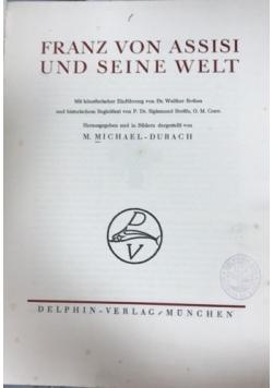 Franz von assisi und seine welt