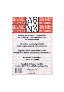 Dwumiesięcznik Arcana nr. 85 1/2009