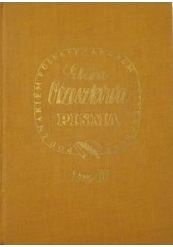 Pisma, Tom III , 1937 r.