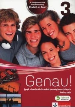 Genau! 3 Podręcznik wieloletni + CD LEKTORKLETT