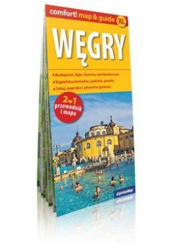 Comfort!map&guide XL Węgry 2w1 plan miasta